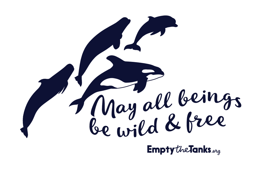 Image of May All Beings Be Wild & Free Sticker