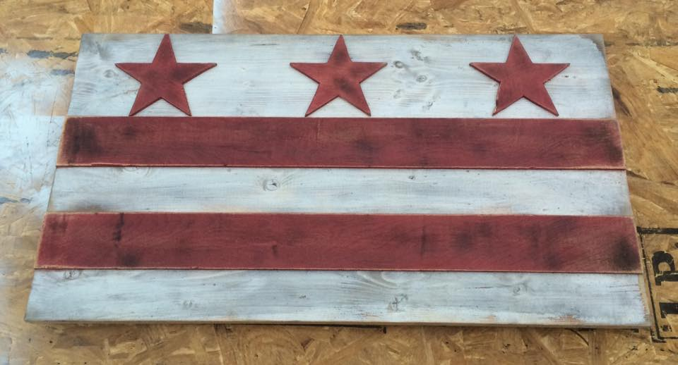 Image of Small DC Flag