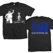 "Image of SHEER TERROR ""Back To Stone Age"" Black T-Shirt"