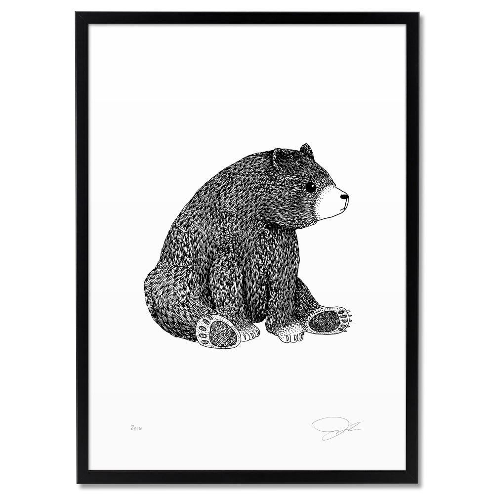 Image of Print: Bear