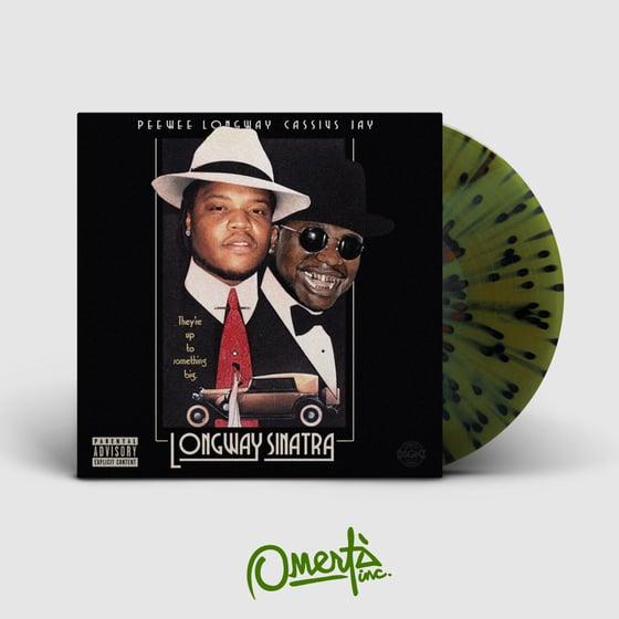 Image of Peewee Longway & Cassius Jay - Longway Sinatra [LP] OMINC006