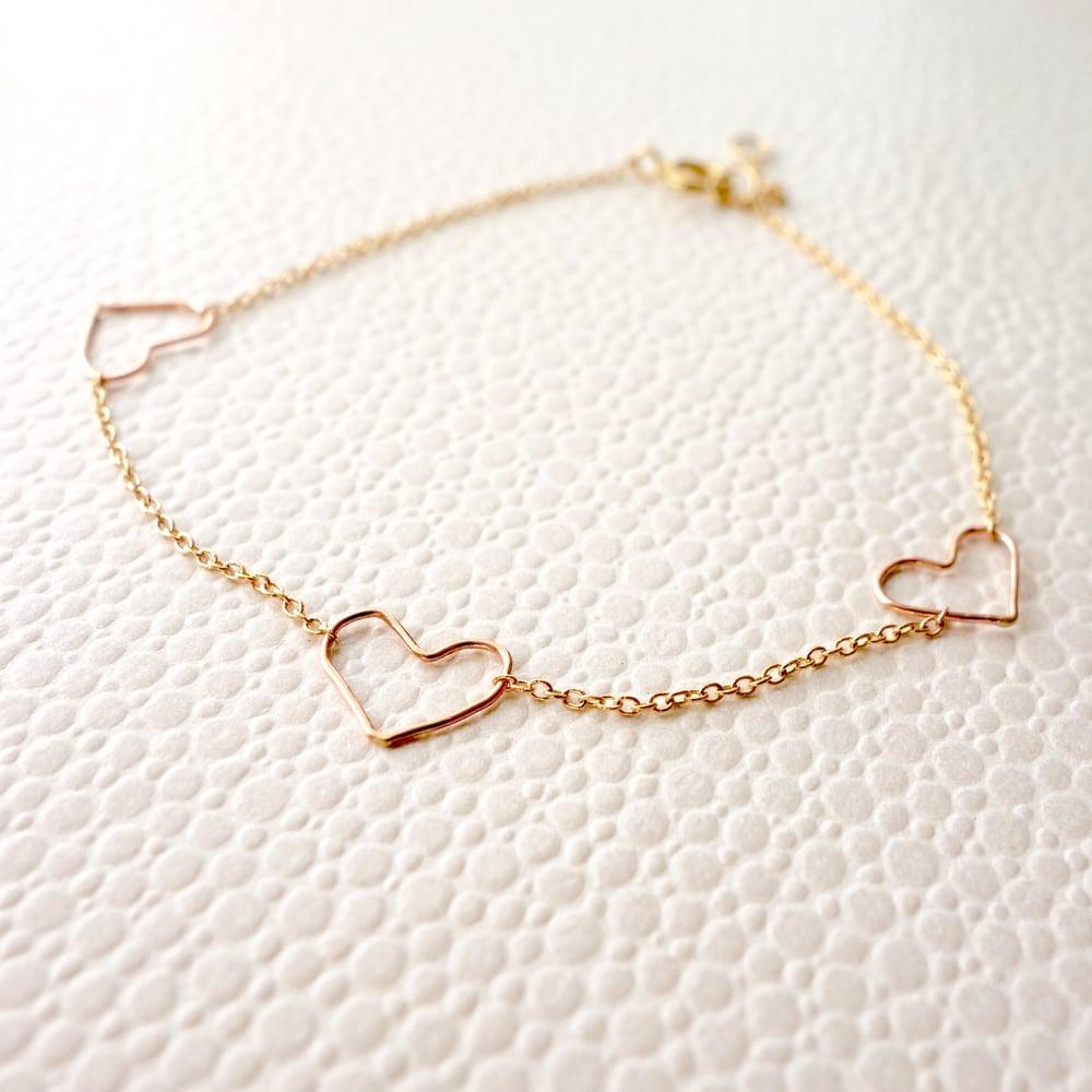 Image of Tri Charm Bracelet