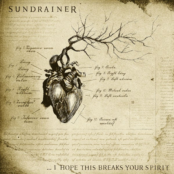 "Image of SUNDRAINER - ""...I Hope This Breaks Your Spirit"" LIMITED EDITION 7""        ::PRE-ORDER::"