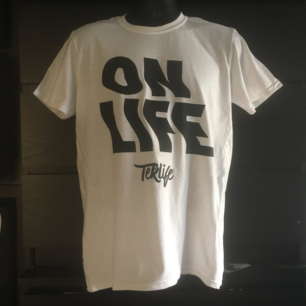 Image of TEKLIFE 024 ON LIFE T-SHIRT