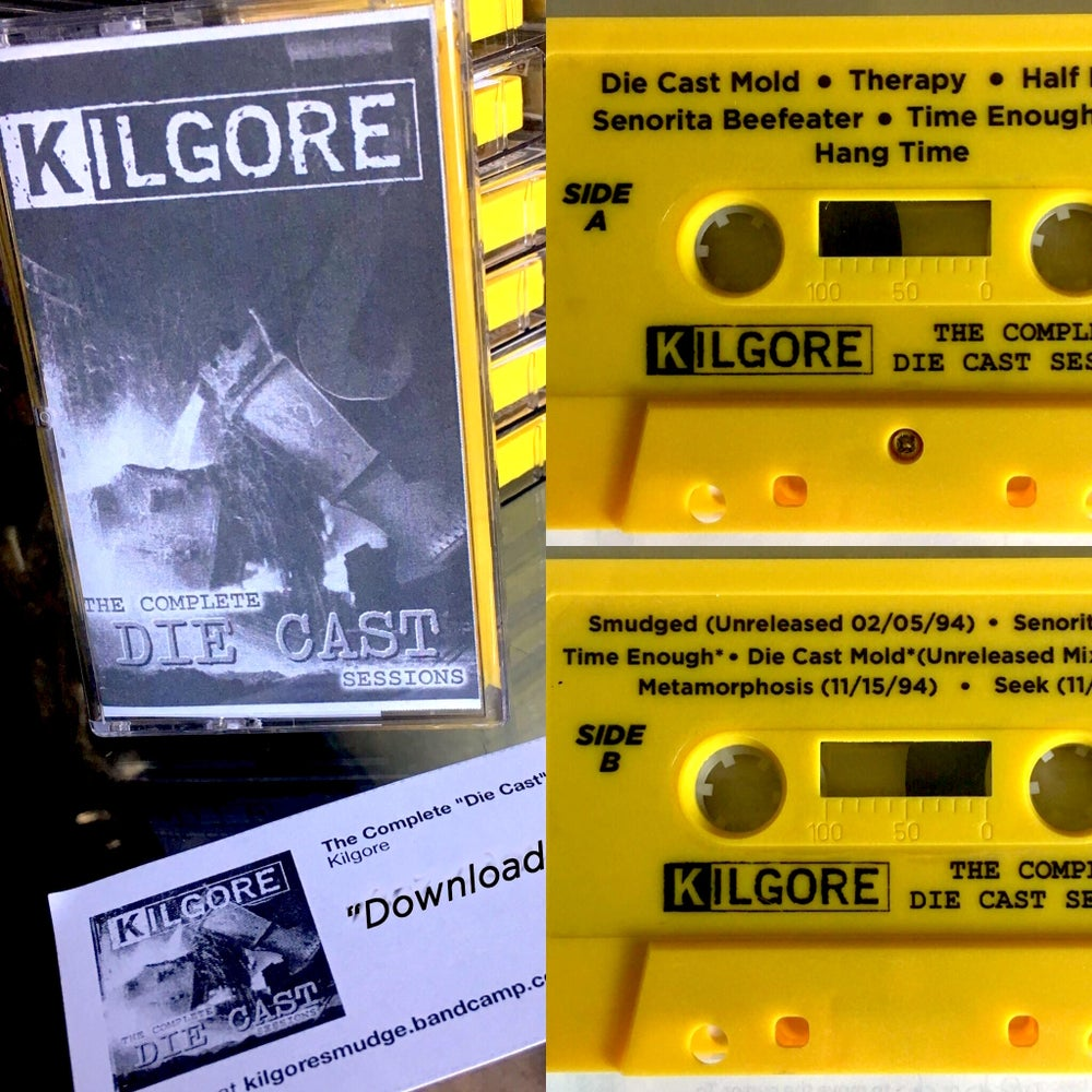 "Image of Signed ""DIE CAST"" Remastered CASSETTE and DIGITAL DOWNLOAD"