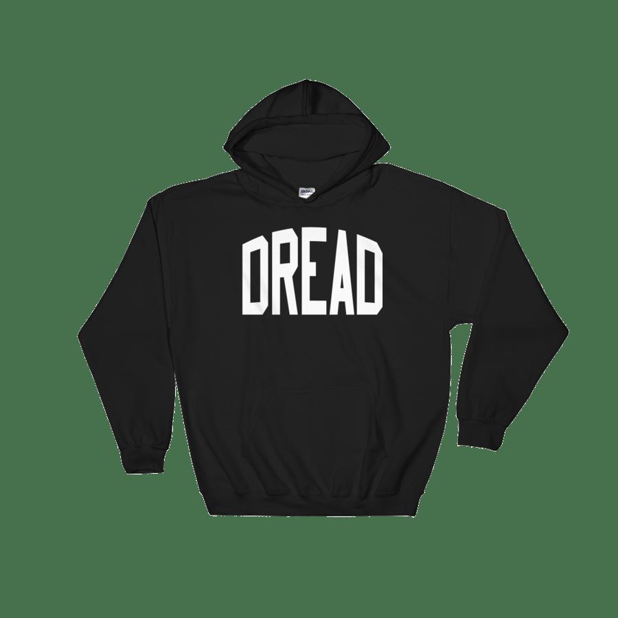 """Image of Black """"Dread"""" Hoodie"""