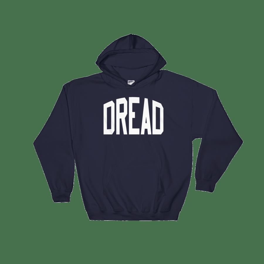 """Image of Navy """"Dread"""" Hoodie"""