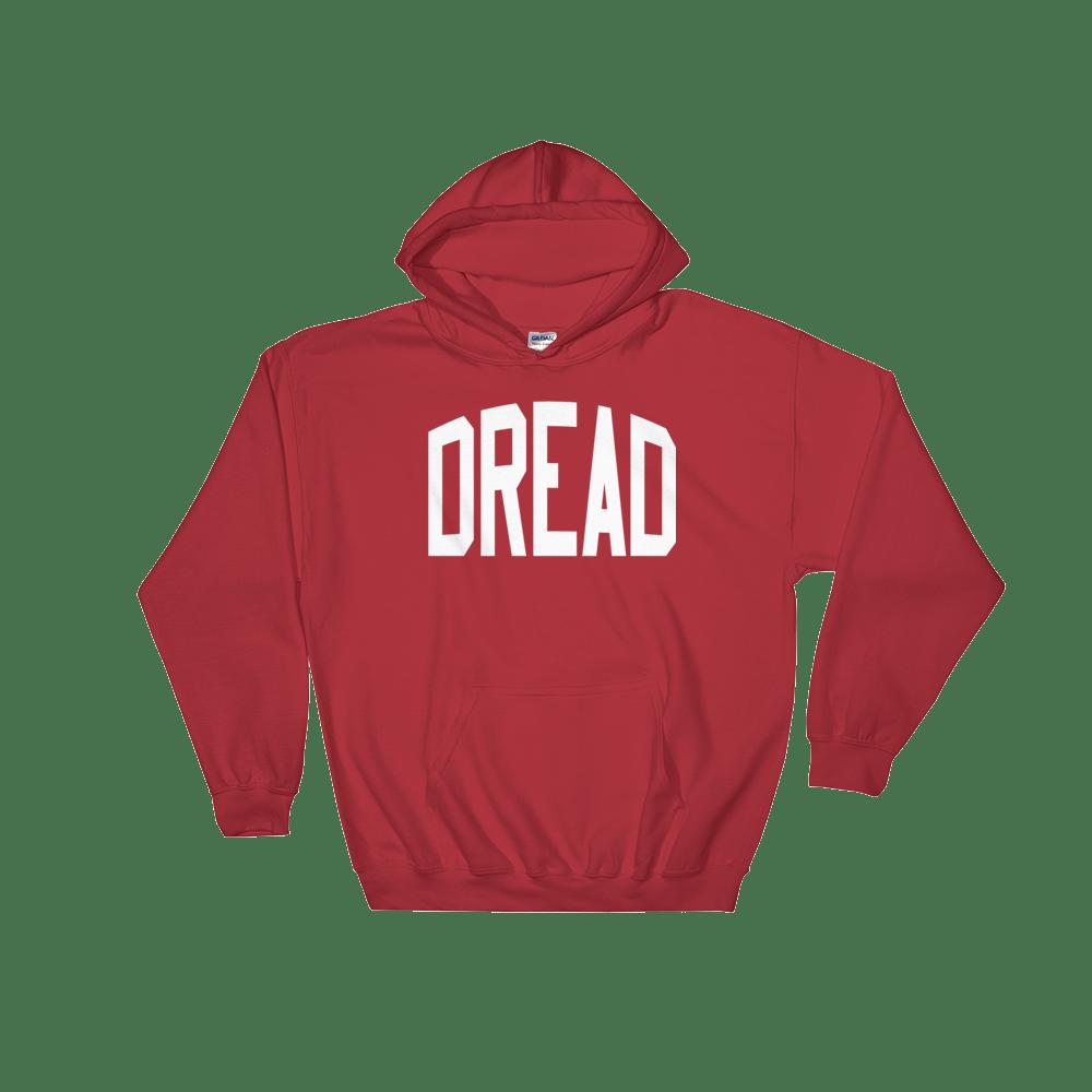 """Image of Red """"Dread"""" Hoodie"""