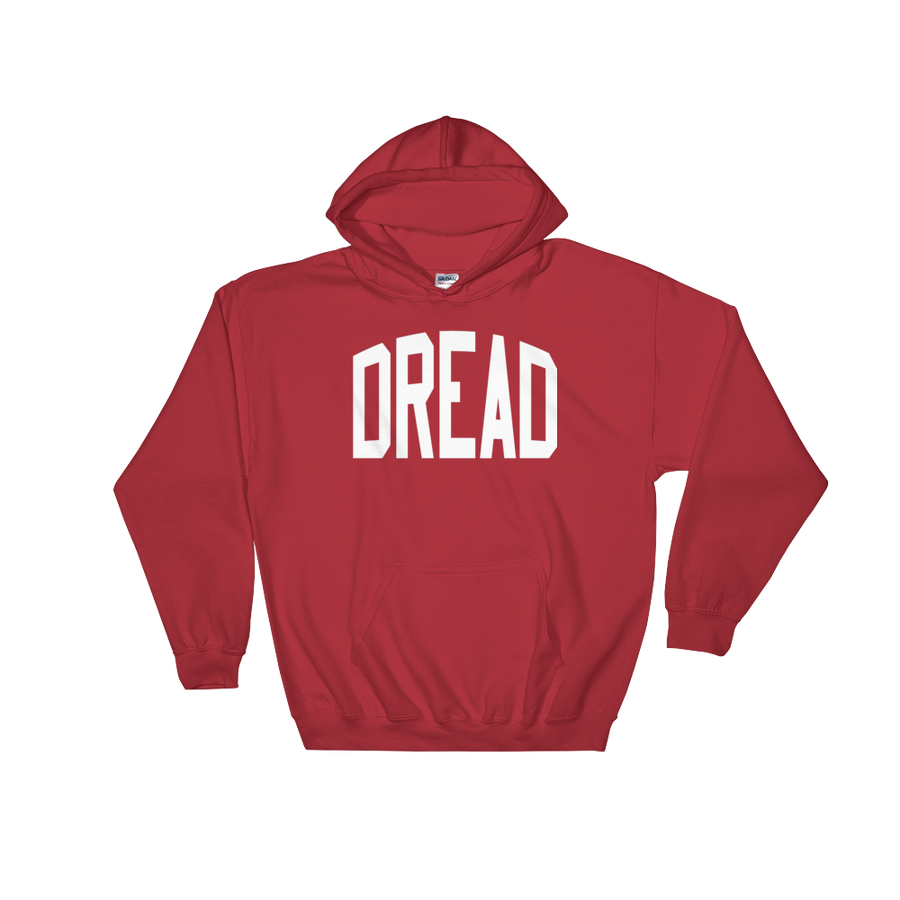 "Image of Red ""Dread"" Hoodie"