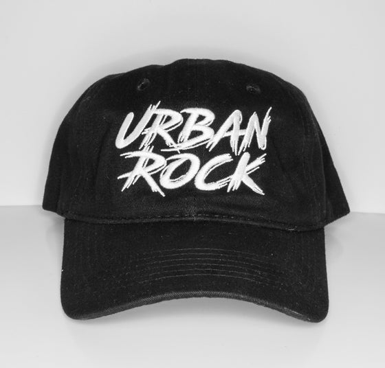 Image of Dad Hats - Urban Rock - Black/White