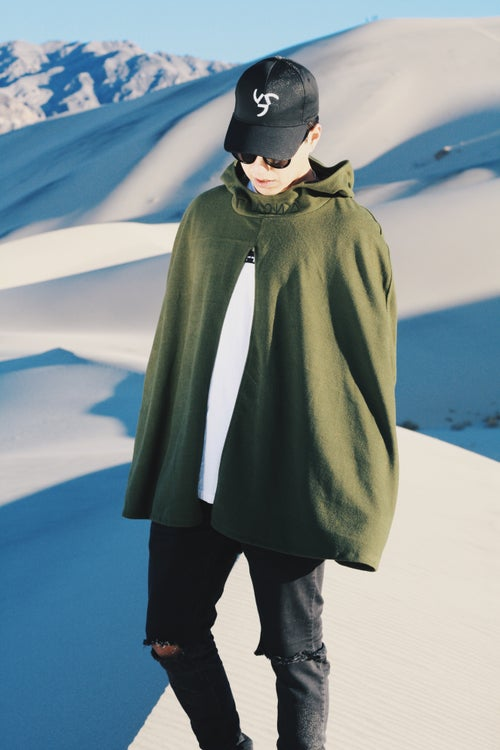 Image of HOODED RUSSIAN OVERCOAT / CAPE