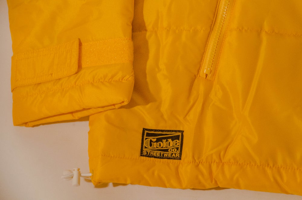 Image of Yellow Puffer Anorak