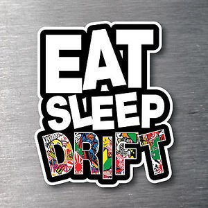 Image of Eat Sleep Drift sticker