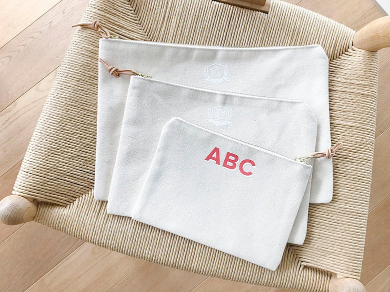 Image of (Customizable) Canvas Pouches