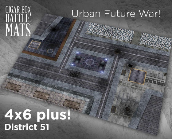 Image of District 51 -- 4x6 plus -- #450