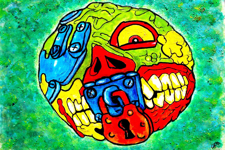 "Image of 4"" x 6"" Mad Balls Series - Digital Prints"