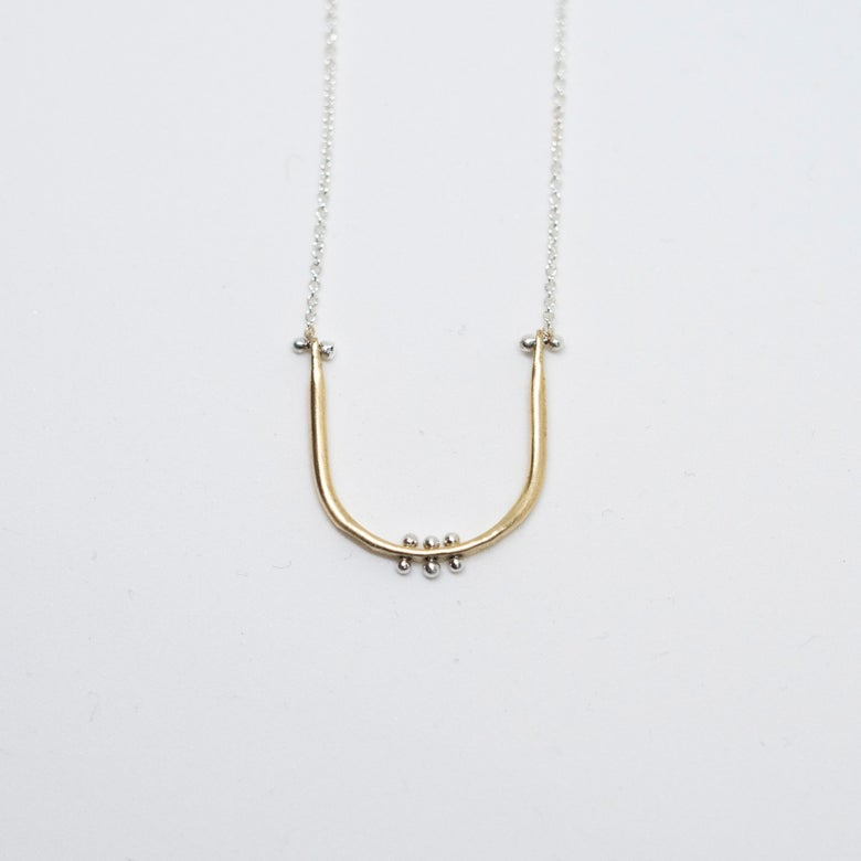 Image of Baby U necklace