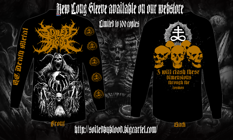 Image of Devouring the Earth Long Sleeve Design