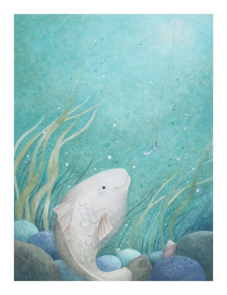 Image of Wishing for a Fish A3