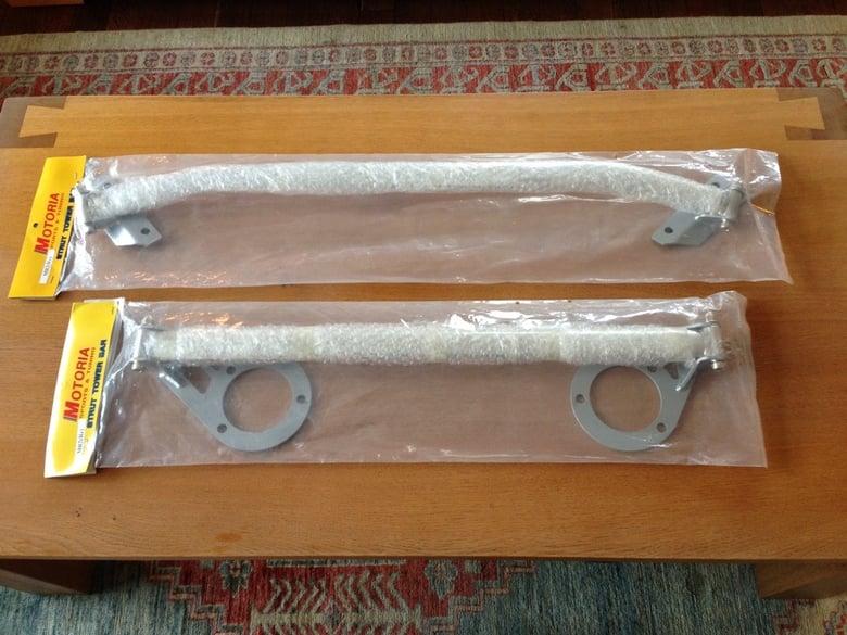 Image of 91-99 MR2 MK2 SW20 Motoria Front & Rear Strut Bars