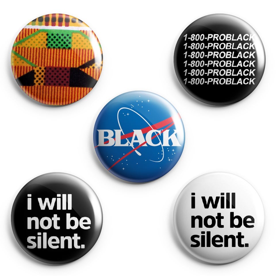 Image of Variety Pin Back Buttons