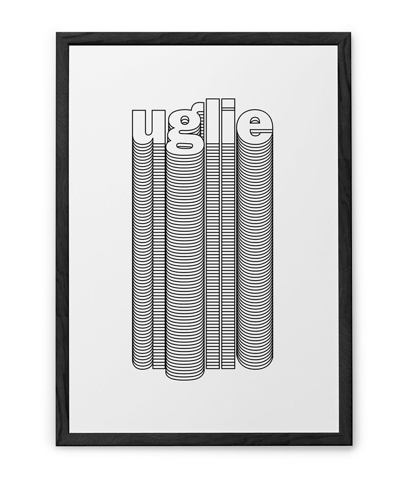 Image of UGLIE POSTER N.1