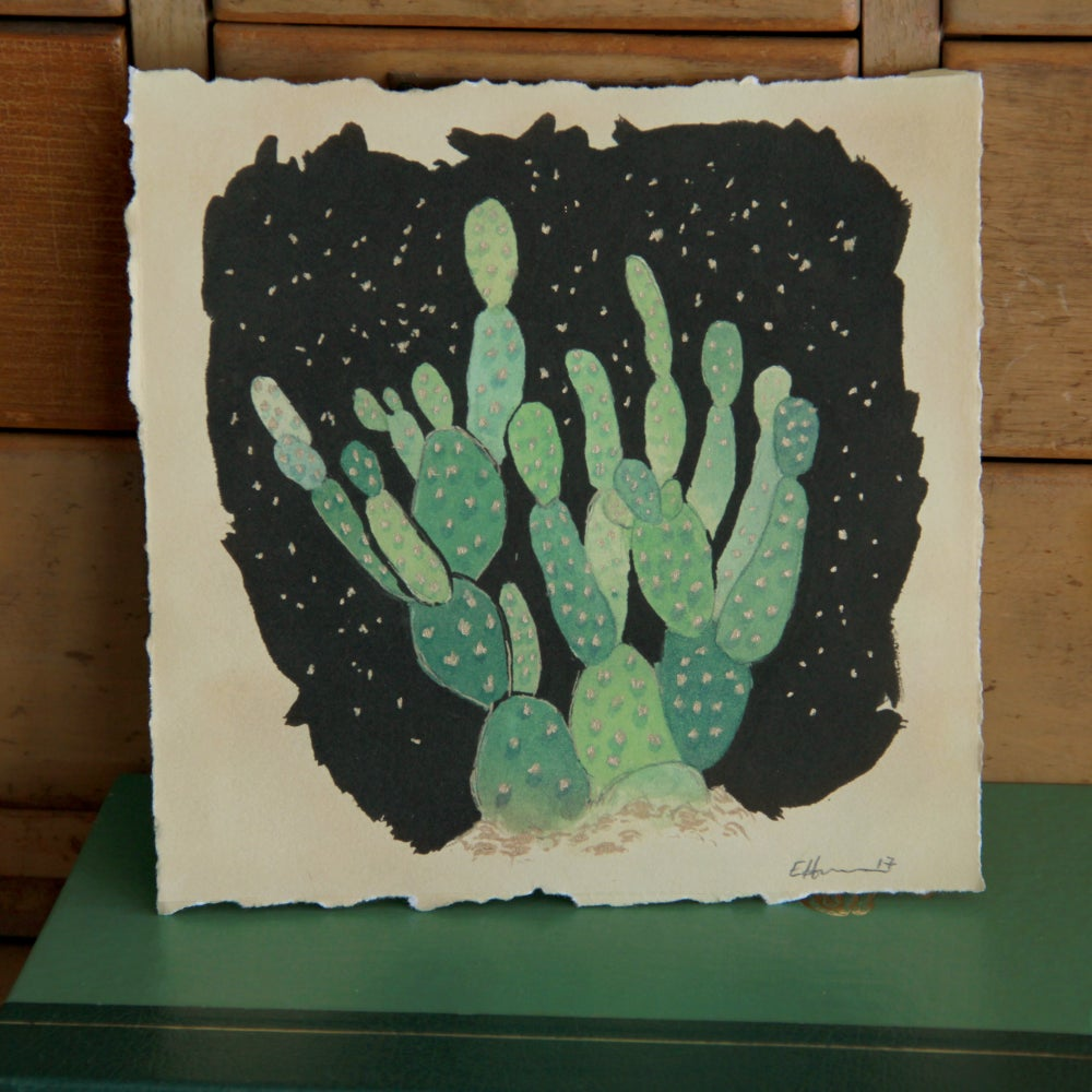 Image of Cactus Print by E Henderson - All Proceeds support Trans People of Color in NC