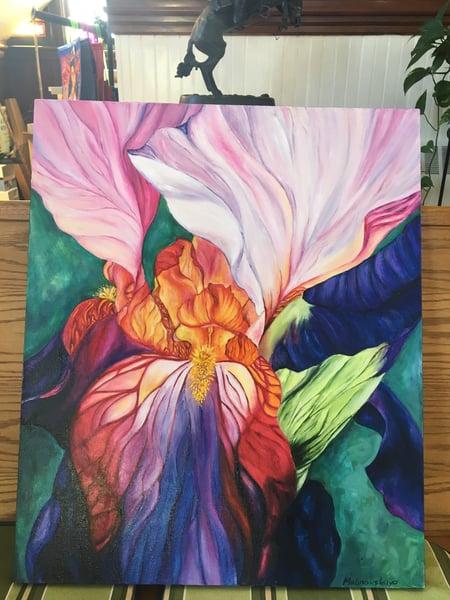 Image of Orchid 2 by Tatiana Nikolaevna Malinovskaya Raspberry (Belarus)