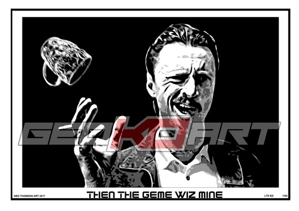 Image of BEGBIE - TRAINSPOTTING