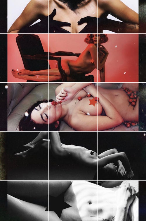 Image of NAKID MAGAZINE - RED ISSUE - ALL NUDE EDITORIAL BOOK