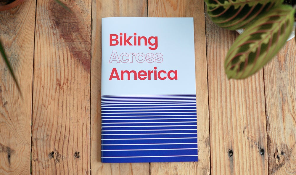 Image of Biking Across America Zine