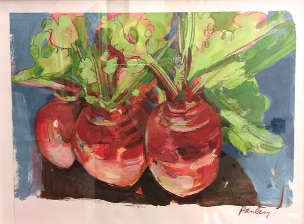 Image of Red Turnips by Lynne Pauley