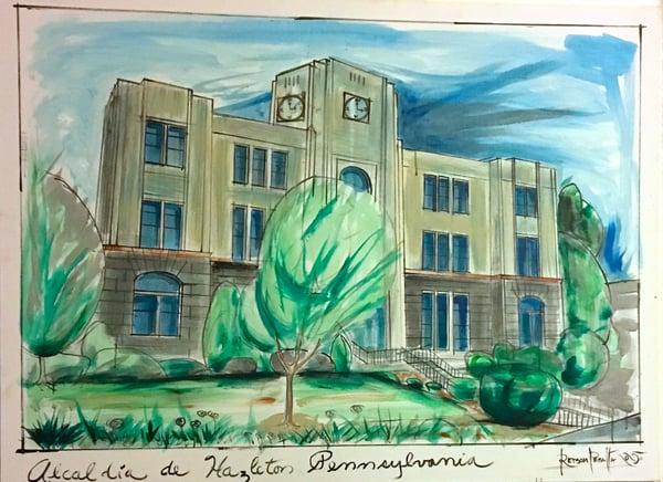 Image of Alcaldia de Hazleton--Hazleton City Hall