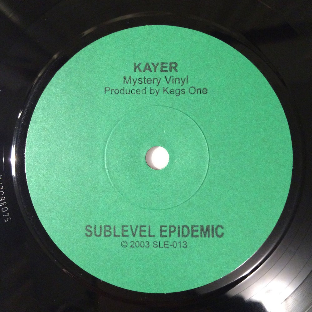 Image of Kayer/Kegs One 7""