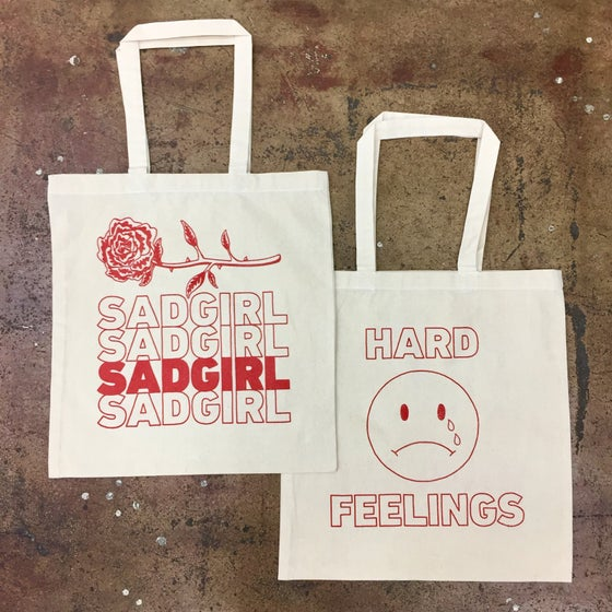 Image of SADGIRL TOTE BAG