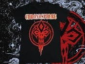 Image of Red N' Roll Black T-shirt