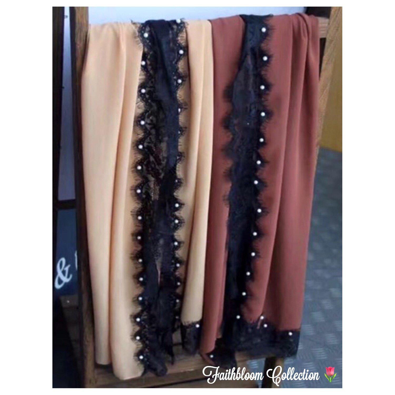 Image of Premium Chiffon Georgette Occasion Hijabs (Originally £15)