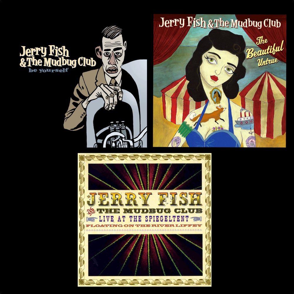 Image of Be Yourself + The Beautiful Untrue + Spiegeltent Live CD+DVD