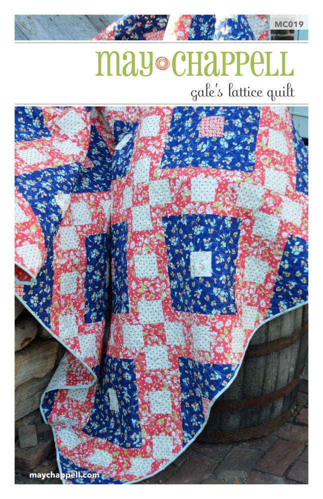 Gales Lattice Quilt May Chappell