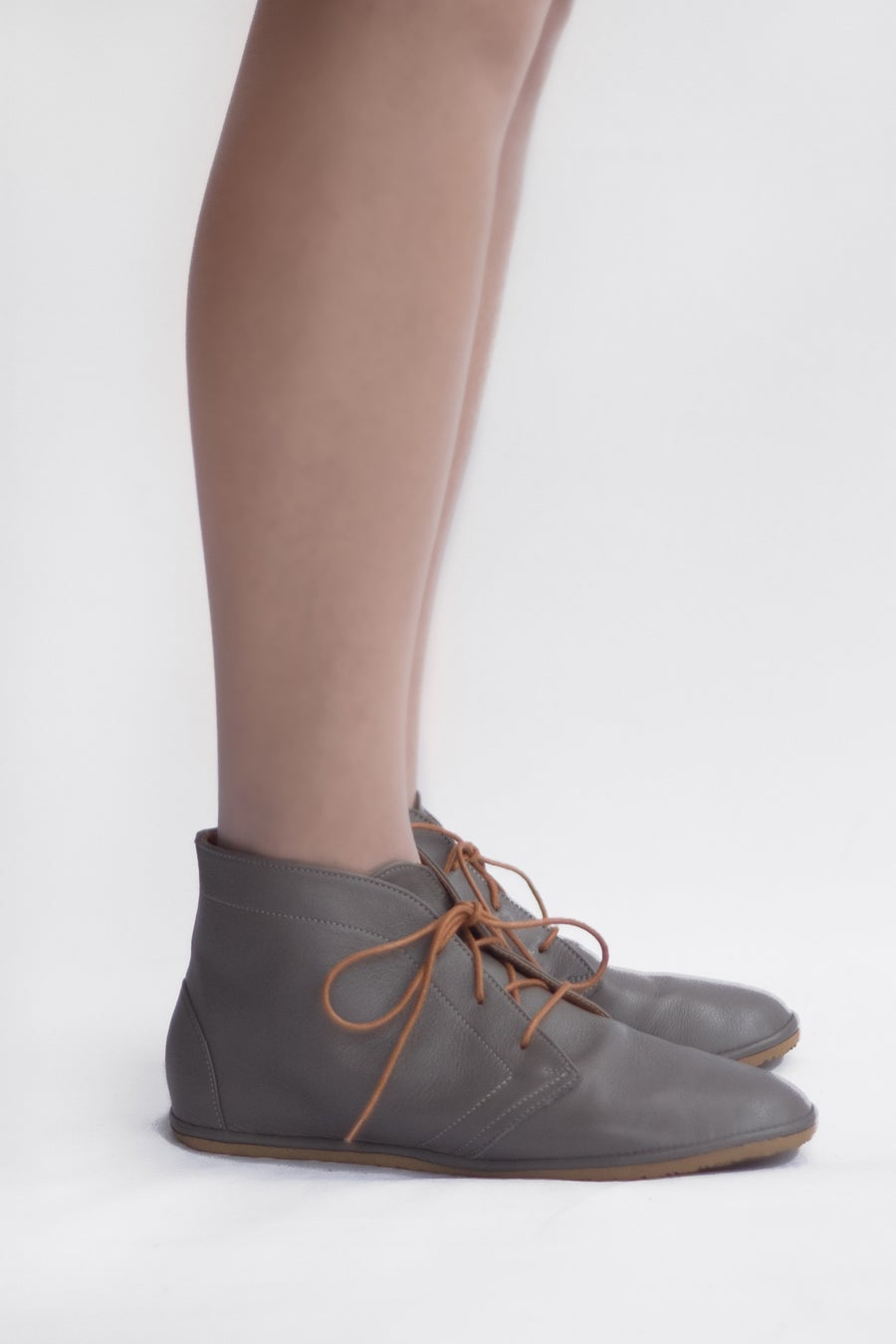Image of  Leona boots in Matte Grey