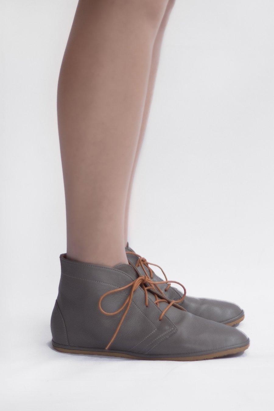 Image of Desert boots - Leona in Grey