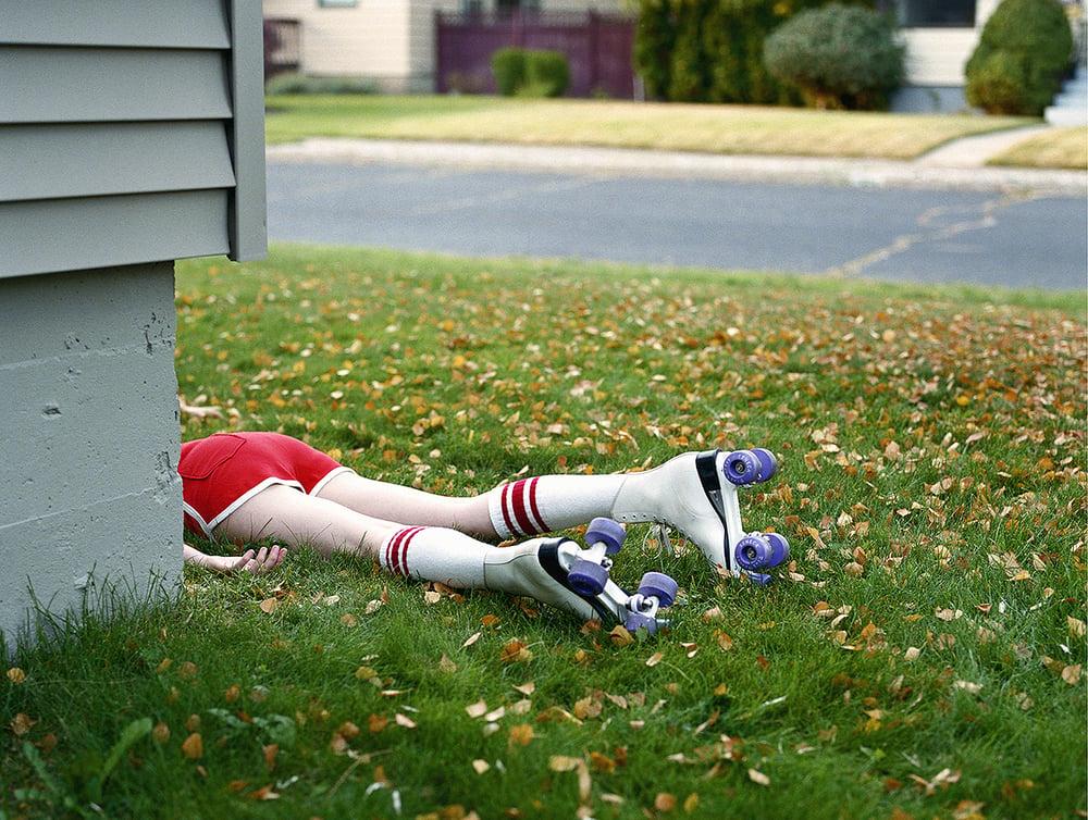 Image of Rollergirl,  Spokane, WA  (11x14)