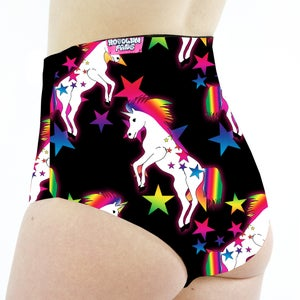 Image of Team Unicorn High Waisted Cheeky Shorts