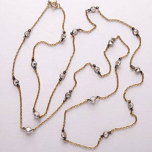 Image of crystal station necklace