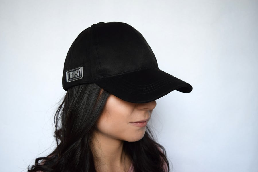 Image of Black Suede Hat