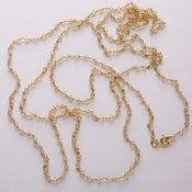 "Image of 54"" Citrine necklace"