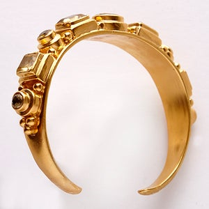 Image of Narrow Citrine Cuff