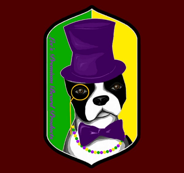 Image of Mardi Gras Sticker