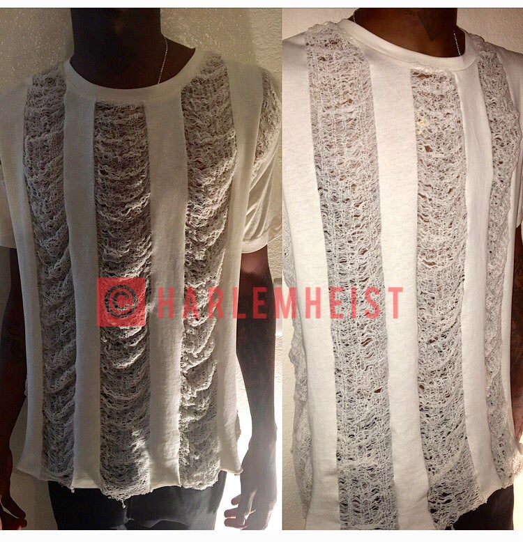 Image of Panel Shredded Shirts