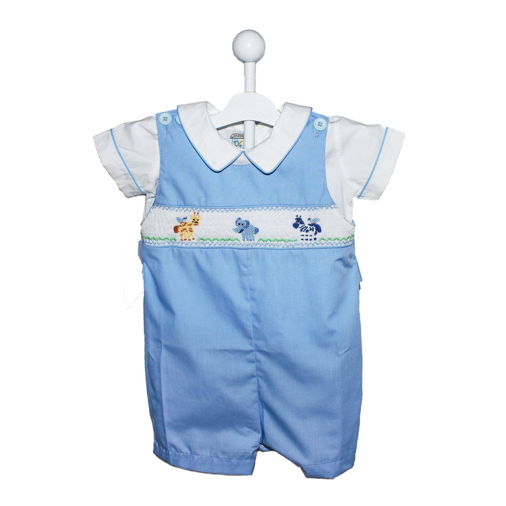 Image of SMOCKED EXPEDITION BLUE JUMPER